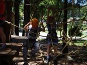 22. jún 2017 - Školský výlet Pribilina, Tarzania